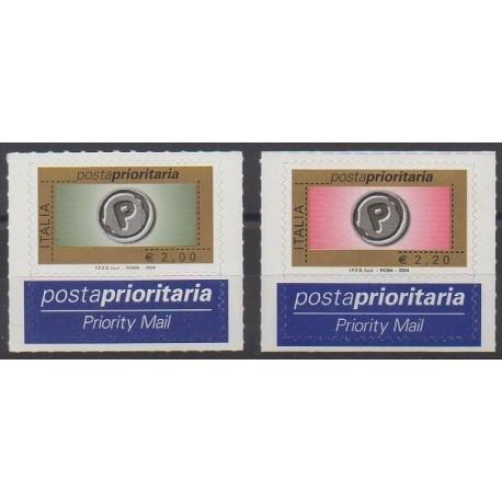 Italie - 2004 - No 2726 et 2728