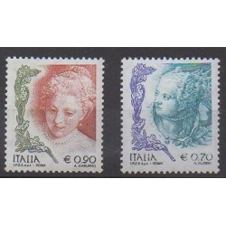 Italie - 2004 - No 2727 et 2730