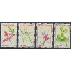 Saint-Thomas et Prince - 2002 - No 1346/1349 - Orchidées