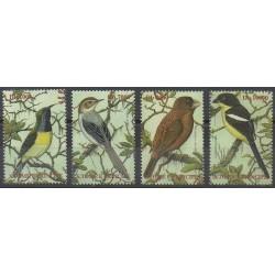 Saint-Thomas et Prince - 2002 - No 1338/1341 - Oiseaux