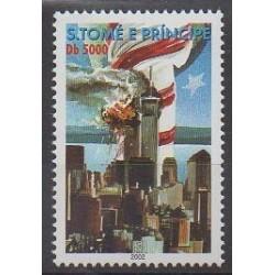 Saint Thomas and Prince - 2002 - Nb 1329 - Various Historics Themes