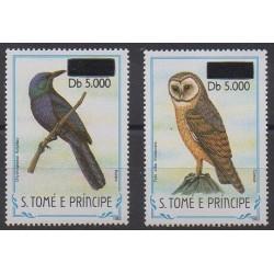 Saint-Thomas et Prince - 2000 - No 1291Q/1291R - Oiseaux