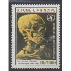 Saint-Thomas et Prince - 2003 - No 1361 - Peinture - Santé ou Croix-Rouge
