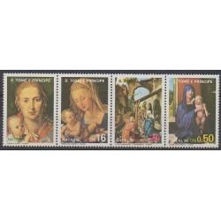 Saint Thomas and Prince - 1986 - Nb 857/860 - Christmas