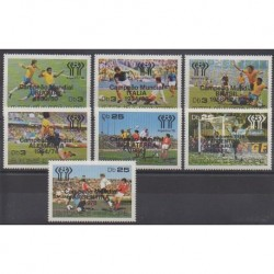 Saint-Thomas et Prince - 1978 - No 506/512 - Coupe du monde de football