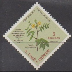 Saint Thomas and Prince - 1958 - Nb 374 - Flowers