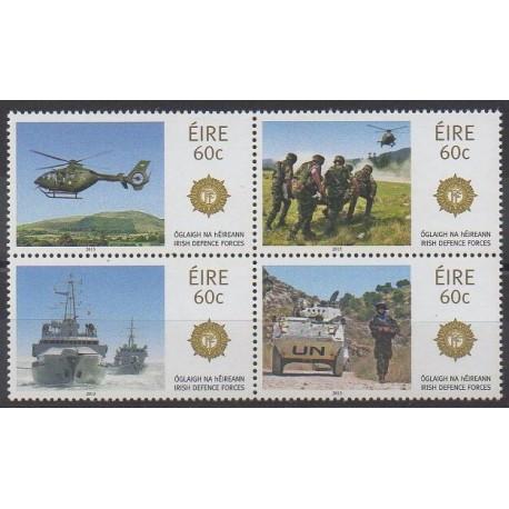 Irlande - 2013 - No 2064/2067 - Histoire militaire