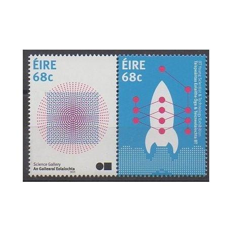 Irlande - 2015 - No 2119/2120 - Sciences et Techniques