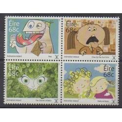 Irlande - 2015 - No 2124/2127 - Dessins Animés - BD