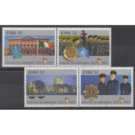 Irlande - 1997 - No 988/991 - Histoire militaire