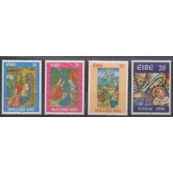 Irlande - 1996 - No 975/978 - Noël