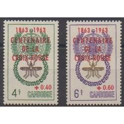 Cambodia - 1963 - Nb 139/140 - Health