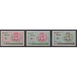 Cambodia - 1970 - Nb 249/251