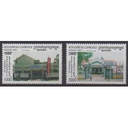 Cambodia - 1997 - Nb 1474/1475 - Various Historics Themes