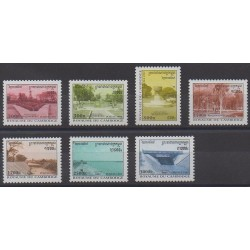 Cambodia - 1997 - Nb 1461/1467 - Sights