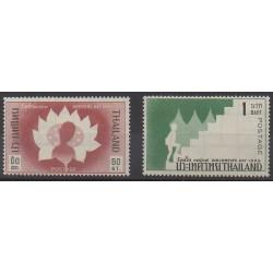 Thaïlande - 1966 - No 429/430 - Enfance