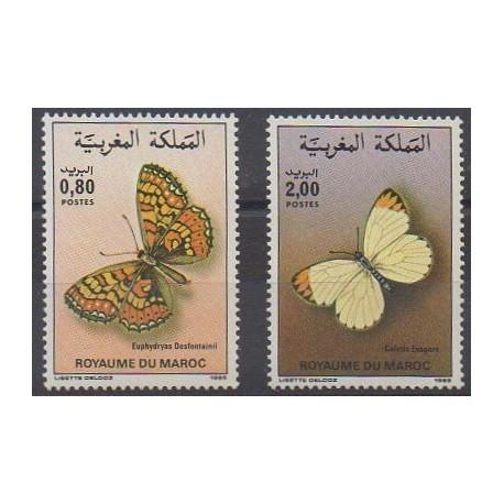 Maroc - 1985 - No 996/997 - Insectes
