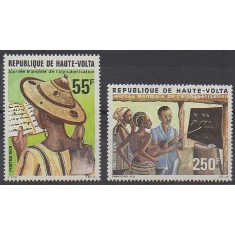 Upper Volta - 1979 - Nb 494/495