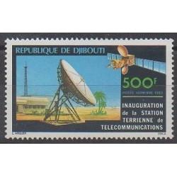 Djibouti - 1980 - Nb PA143 - Telecommunications