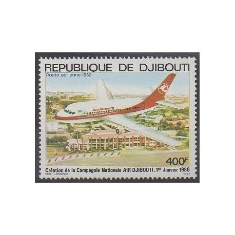 Djibouti - 1980 - Nb PA140 - Planes