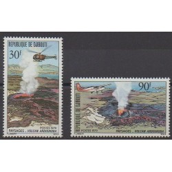 Djibouti - 1979 - Nb 497/498 - Sights