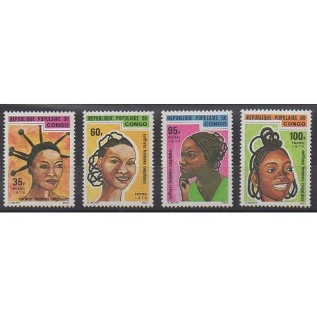Congo (République du) - 1976 - No 424/427