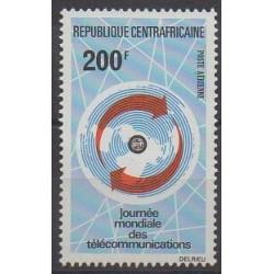 Centrafricaine (République) - 1973 - No PA116 - Télécommunications