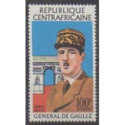 Central African Republic - 1971 - Nb 148 - De Gaullle