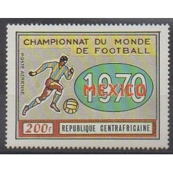 Central African Republic - 1970 - Nb PA88 - Soccer World Cup