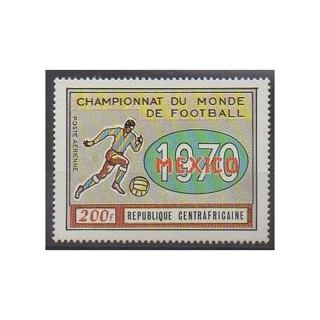 Centrafricaine (République) - 1970 - No PA88 - Coupe du monde de football