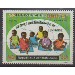 Central African Republic - 1972 - Nb PA97 - Childhood