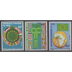 Benin - 1979 - Nb 438/440 - Various Historics Themes