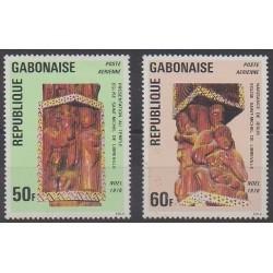 Gabon - 1976 - Nb PA188/PA189 - Religion - Art