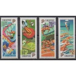 Singapour - 1996 - No 777/780 - Jeux Olympiques d'été