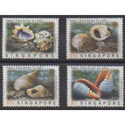 Singapore - 1997 - Nb 834/837 - Sea life