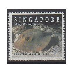 Singapour - 1998 - No 845 - Vie marine