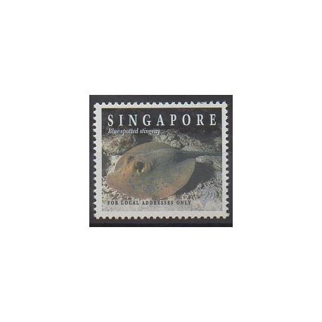 Singapore - 1998 - Nb 845 - Sea life