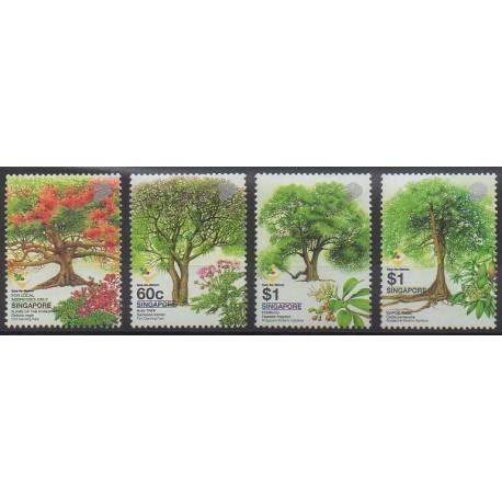 Singapour - 2002 - No 1134/1138 - Arbres