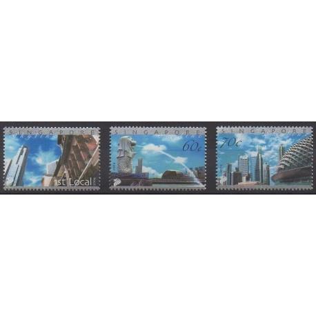 Singapour - 2004 - No 1237/1239