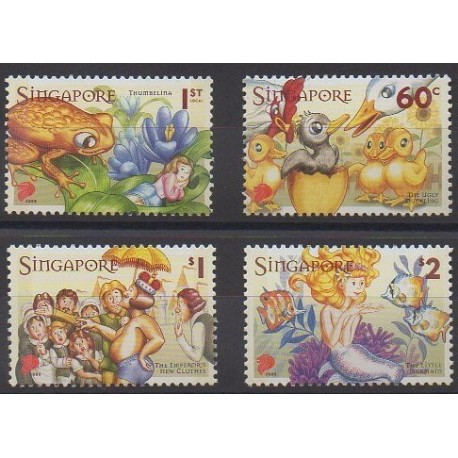 Singapour - 2005 - No 1288/1291 - Littérature