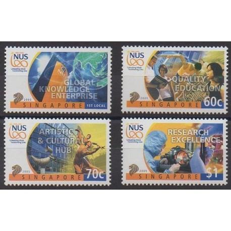 Singapour - 2005 - No 1292/1295
