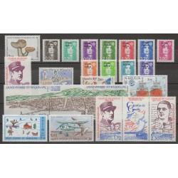Saint-Pierre et Miquelon - Année complète - 1990 - No 513/533 - PA 69