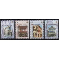 Singapour - 2005 - No 1354/1357 - Architecture