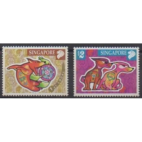 Singapour - 2006 - No 1403/1404 - Horoscope