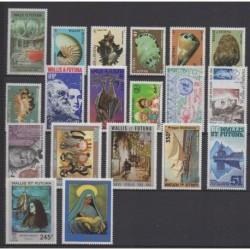 Wallis and futuna - Complete year - 1985 - Nb 322/334 - PA143/PA148