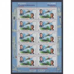 France - Airmail - 2021 - Nb PA85 - Minifeuille - Planes