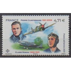 France - Airmail - 2021 - Nb PA85 - Planes