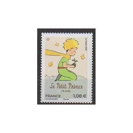 France - Poste - 2021 - No 5483 - Littérature - Le Petit Prince