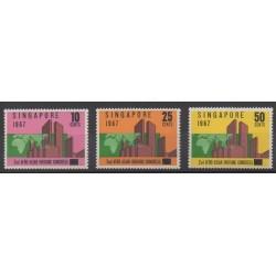 Singapore - 1967 - Nb 76/78