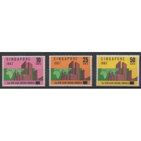 Singapour - 1967 - No 76/78